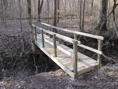 Woodland Trail bridge